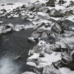 Small waterfall near Þingvellir