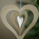 Christmas Decoration – Twisty Heart