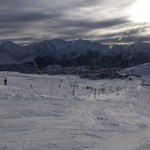 View from Alpe d'Huez, Sagnes Run