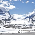 Glacier at the Columbia Icefield