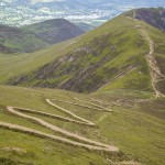 Route down from Skiddaw