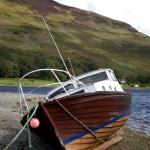 Boat at Lochranza