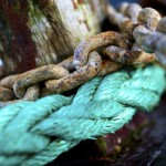 Boat chain and rope
