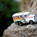 Shell Truck on Dangerous Cliff