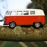 Campervan Climbs a Tree