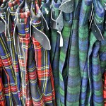 Tartan on the Royal Mile