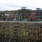 Crail Harbour Wall