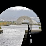 Falkirk Wheel through the Antonine Tunnel
