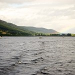 First cruise on Loch Ness