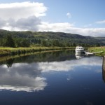 Moored at Cullochy Lock