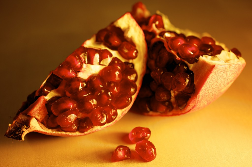 Quarters of Pomegranate