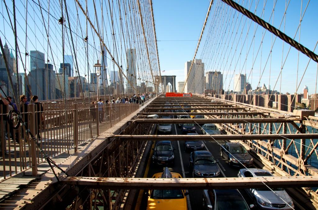 On Brooklyn Bridge
