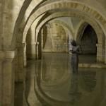 Crypt under water