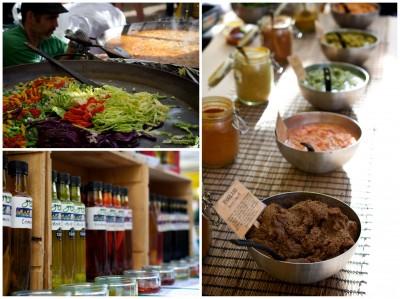 Tastes of Stockbridge market