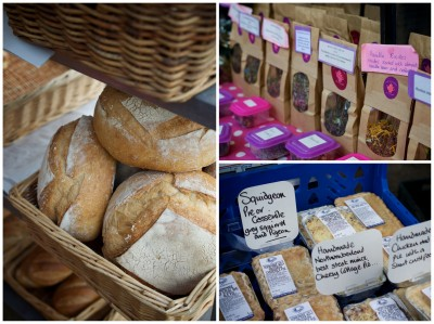 Stock Bridge Market - Bread, Tea & Squidgeon Pies