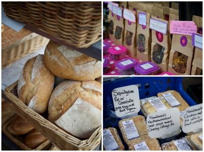 Stock Bridge Market - Bread, Tea & Squidgeon Pies