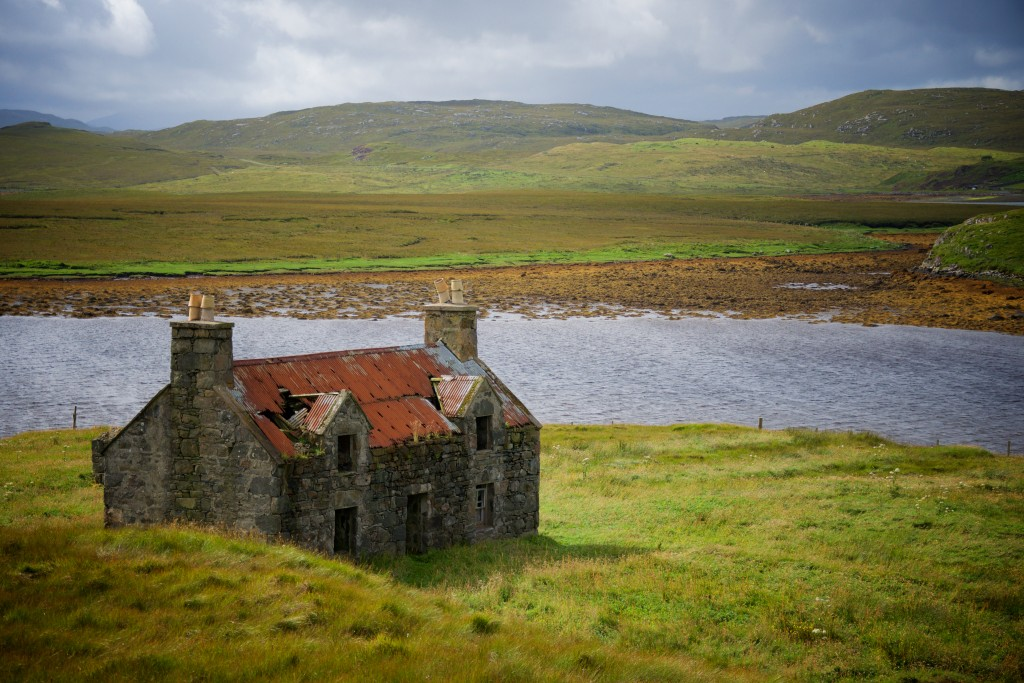 Abandoned Cottage on Isle of Lewis