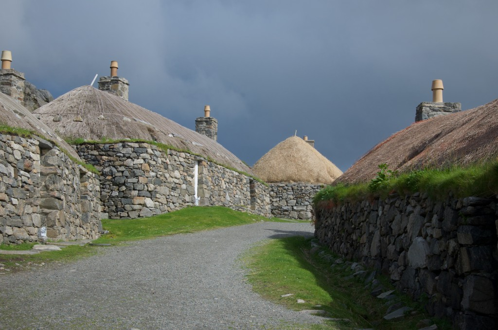 Gearrannan Black House Village