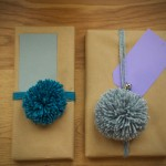 Pom Pom Christmas Wrapping