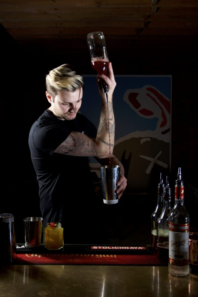 Cocktail Flaring