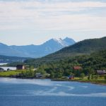 Route out from Tromso